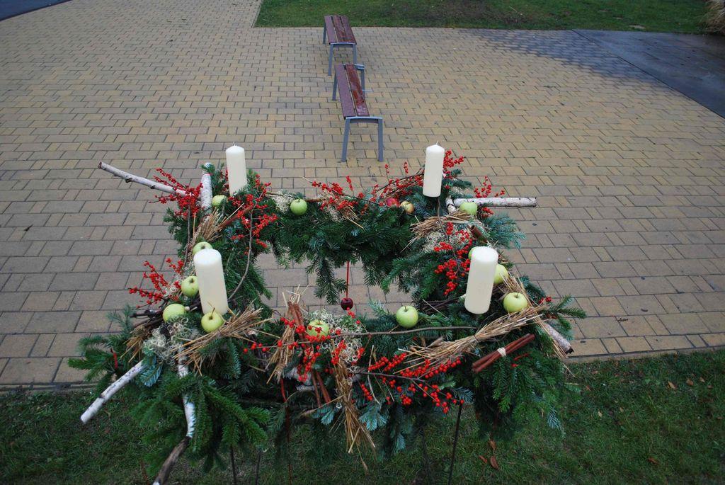 Adventi gyertyagyújtások - 2012.12.