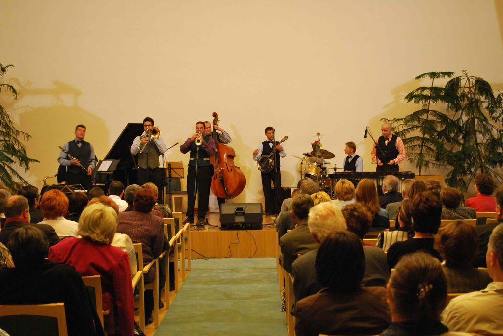 Budapest Ragtime Band koncertje - 2010.10.16.