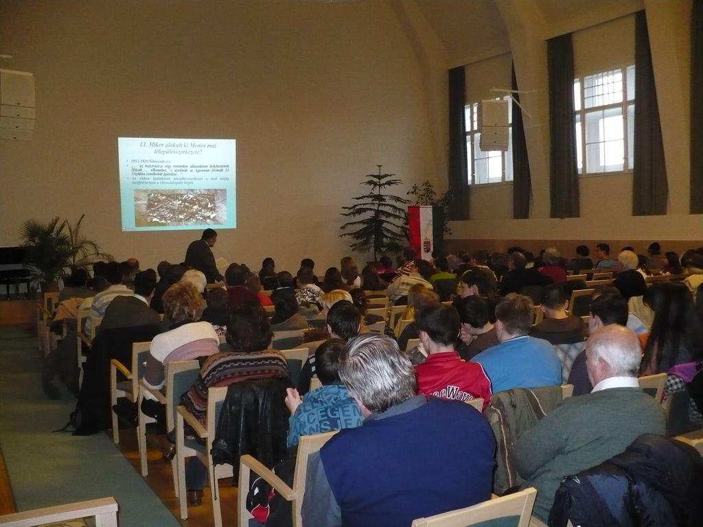 Helytörténeti előadássorozat - Kiss Attila előadása - 2009.01.27.