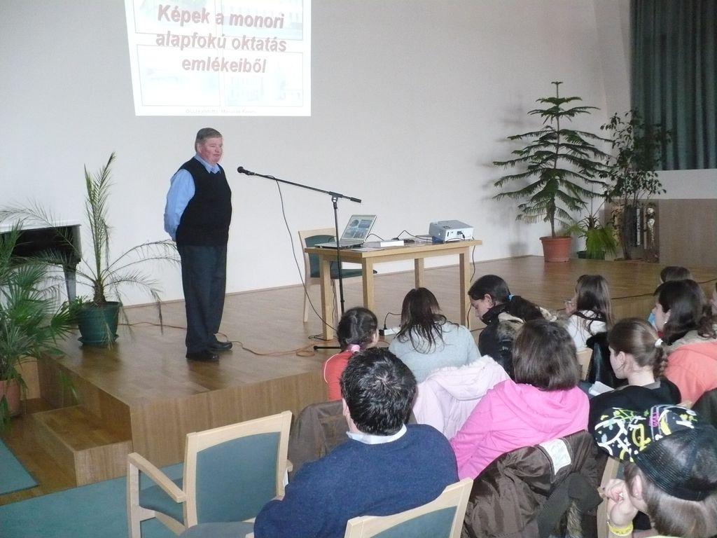 Helytörténeti előadássorozat - Marunák Ferenc előadása - 2009.02.24.