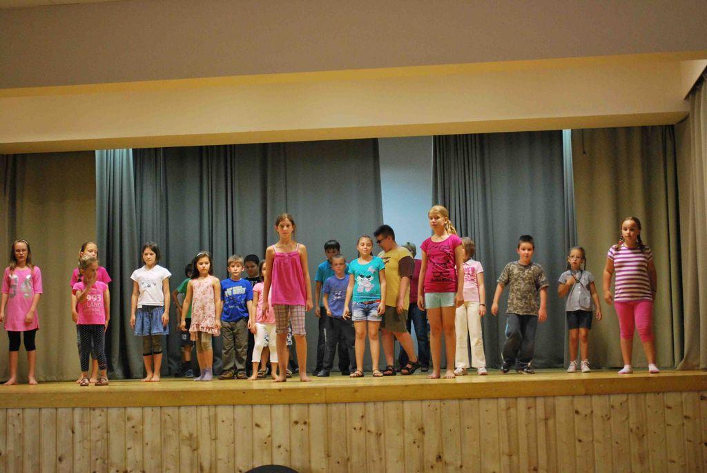 Képzőművészeti napközis tábor - 2012.07.9-13.