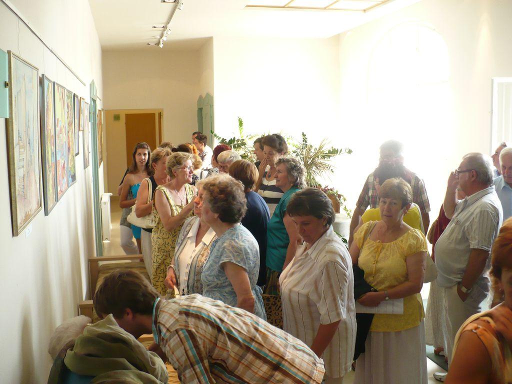 Liudmila Agafonova kiállítása - 2009.08.