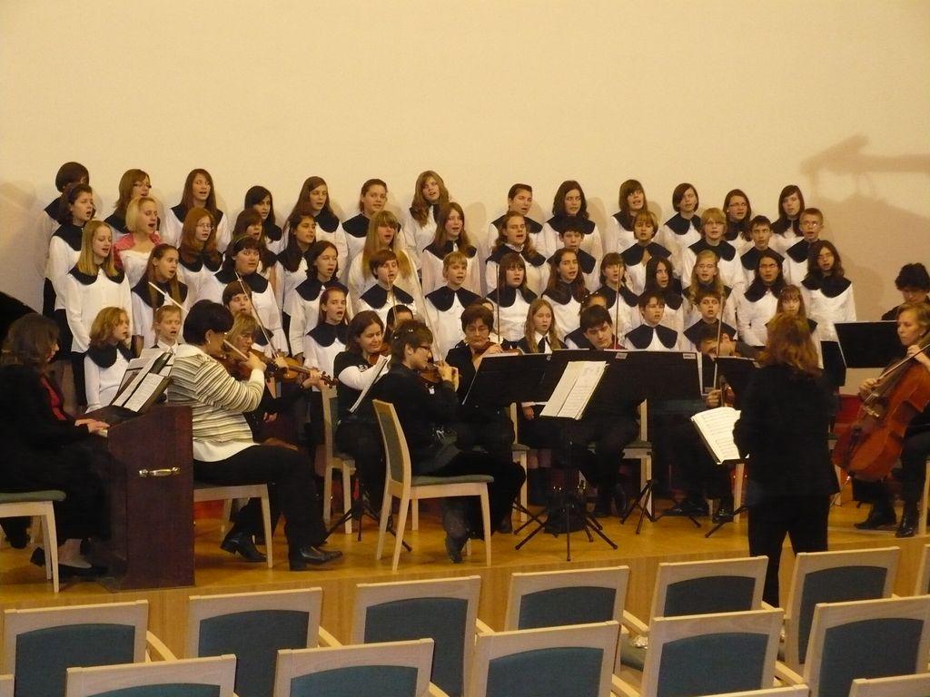 MÁV Zenekar és Forrás Kórus Karácsonyi koncertje - 2008.12.13.