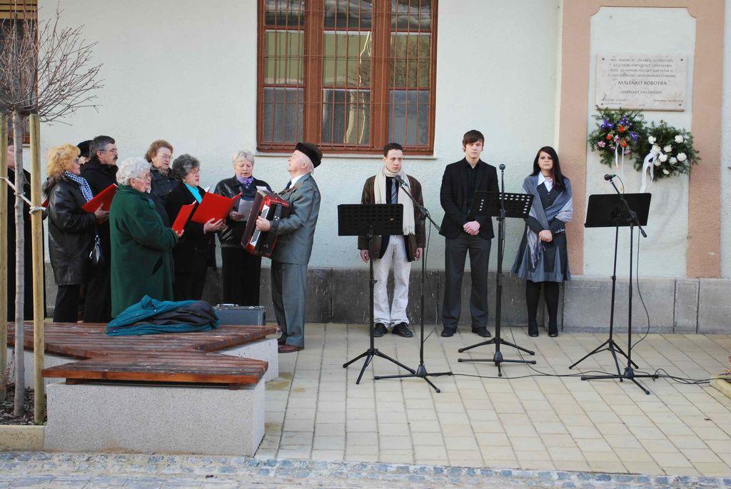 Megemlékezés a kommunista diktatúra áldozatairól - 2010.02.25.