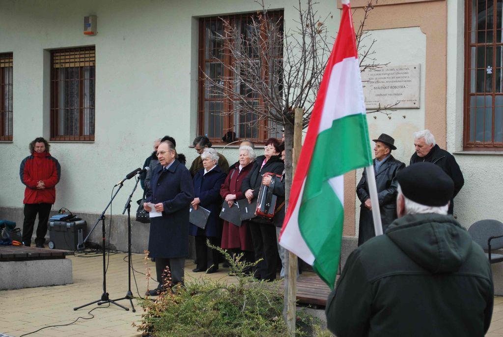 Megemlékezés a Kommunista Diktatúra Áldozatainak emléknapján - 2013.02.25.