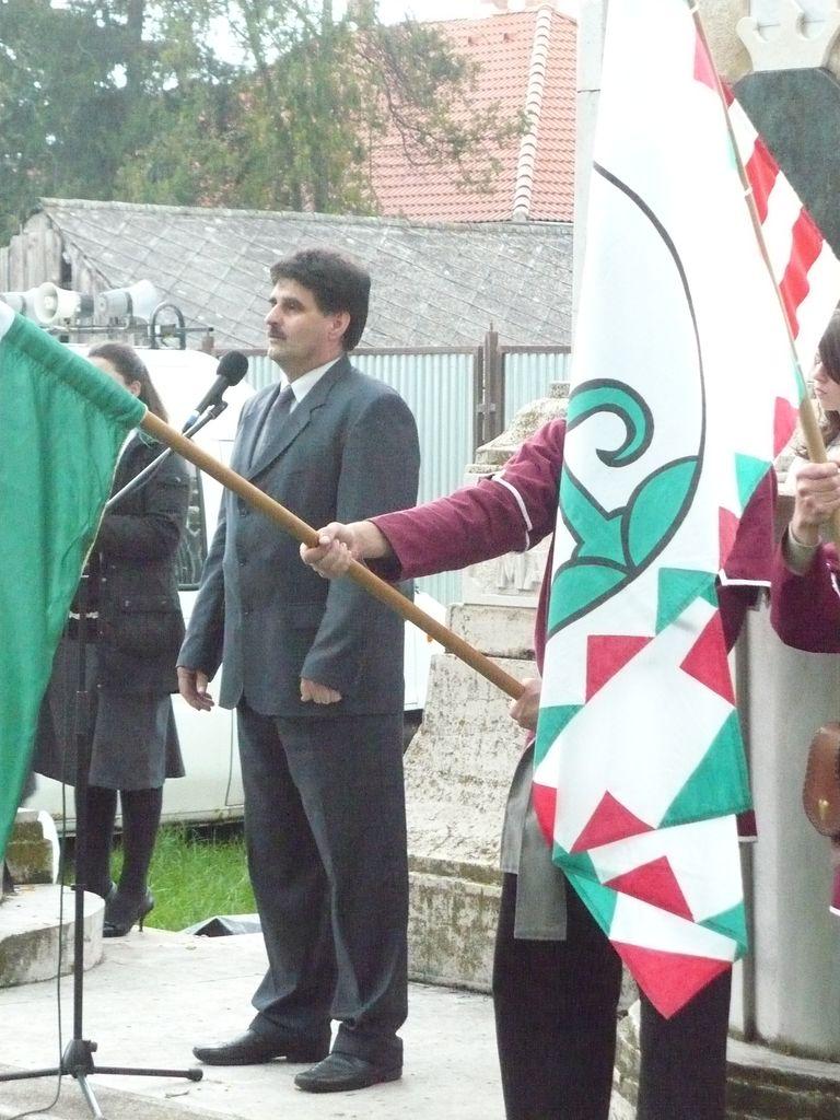 Megemlékezés a trianoni döntés 90. évfordulójáról - 2010.06.03.