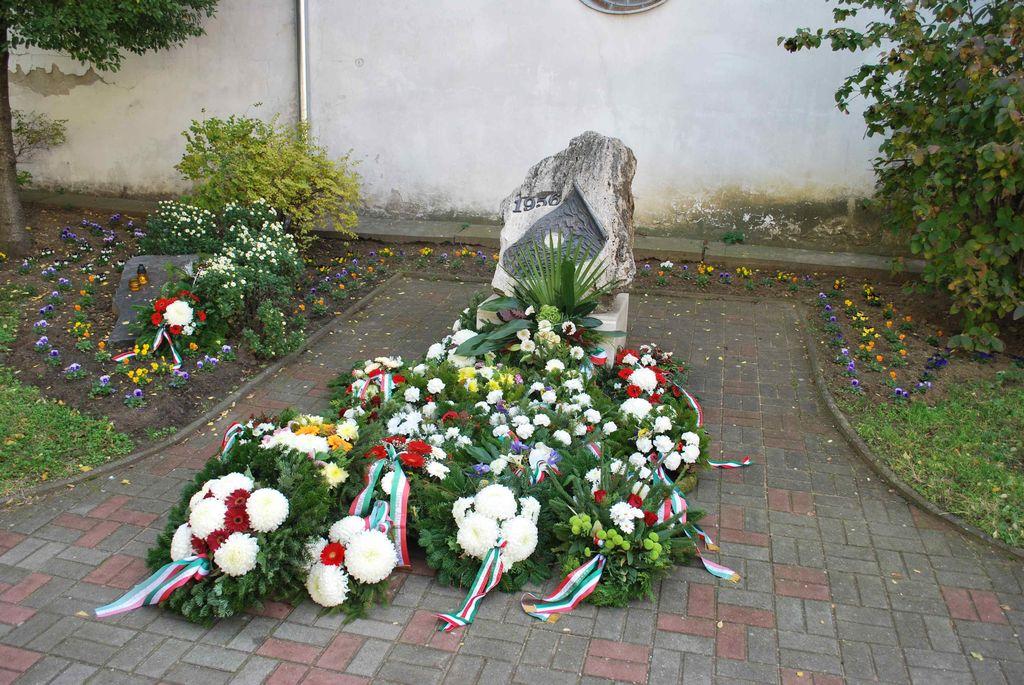 Megemlékezés az 1956-os forradalom eseményeiről - 2013.10.23.