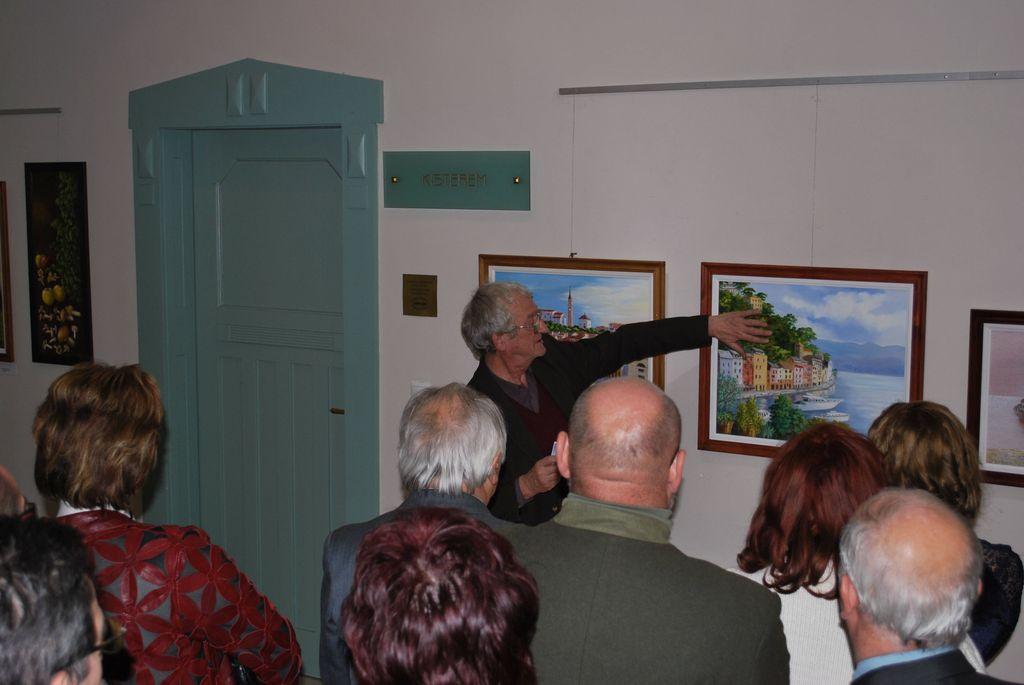 Mezei Zsuzsa kiállítása - 2010.02.