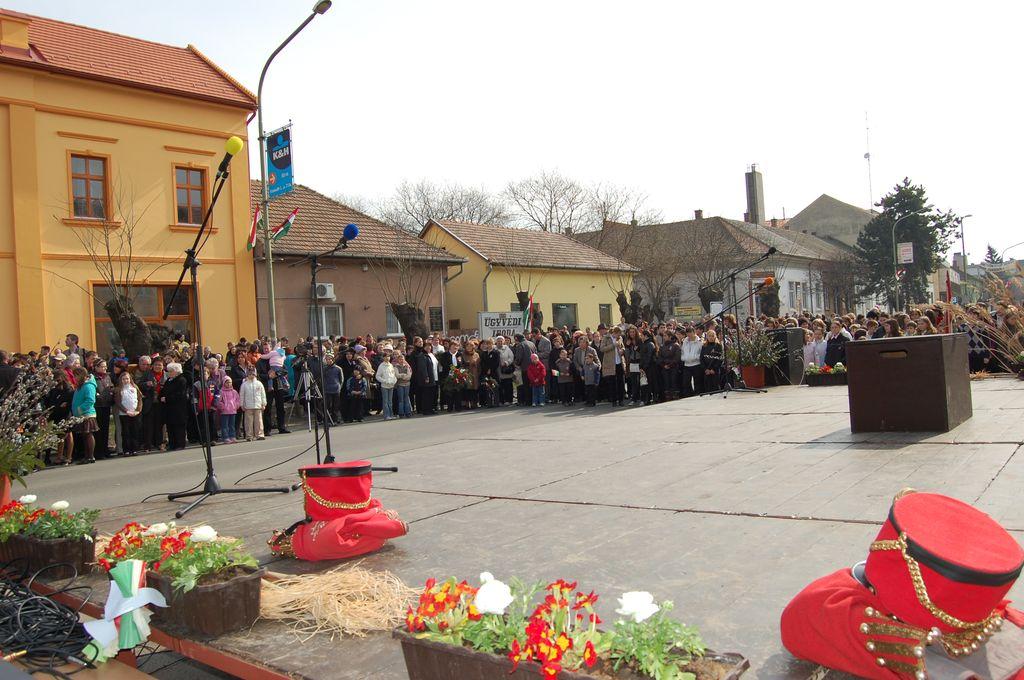 Március 15. Városi ünnepség - 2009.03.15.