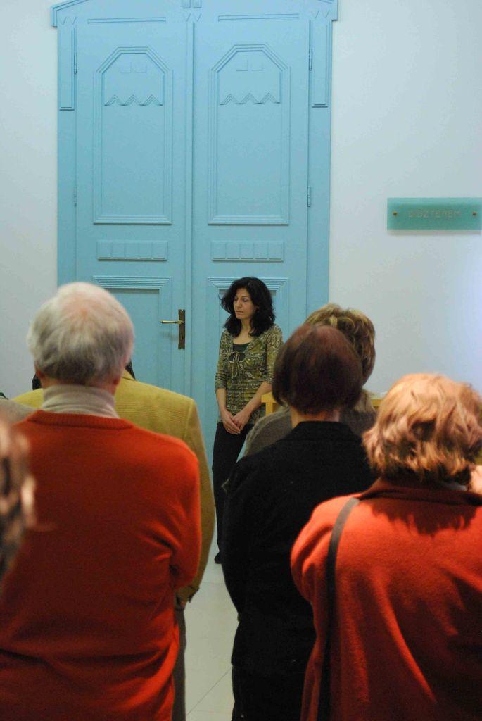 Nagy Parisa kiállítása - 2013.02.