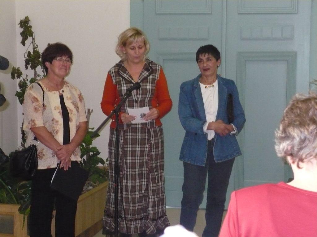 Varga Ibolya kiállítása - 2008.10.