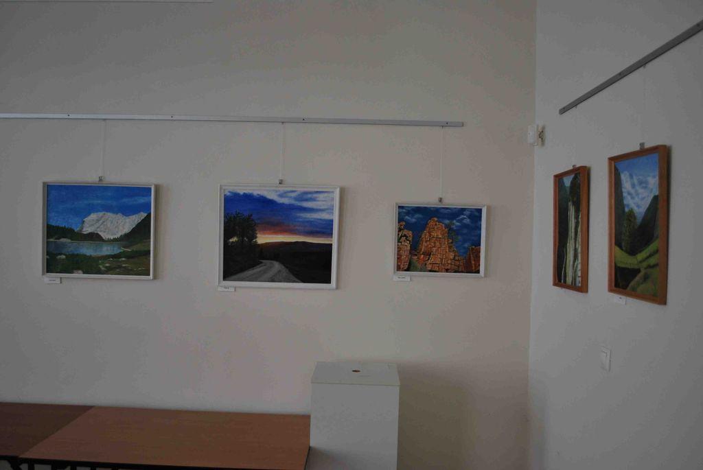 Vasné Katona Hajnalka kiállítása - 2012.08.