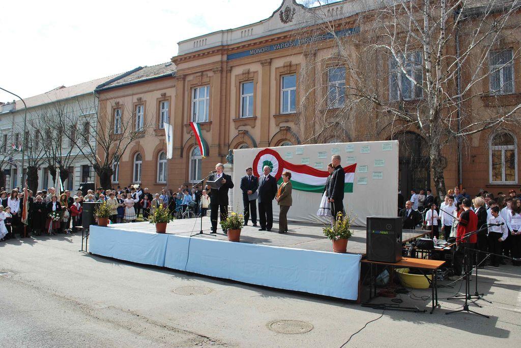 Városi ünnepség - 2011.03.15.