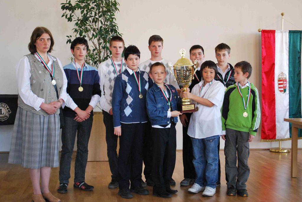 Városi sakkverseny - 2011.04.08.
