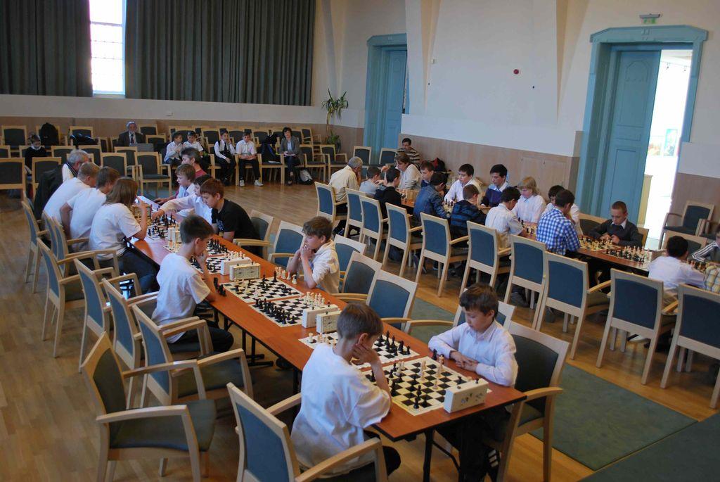 Városi sakkverseny - 2012.03.23.