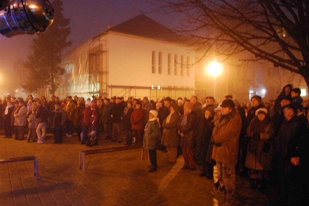 Városközpont átadás - 2012.12.16.