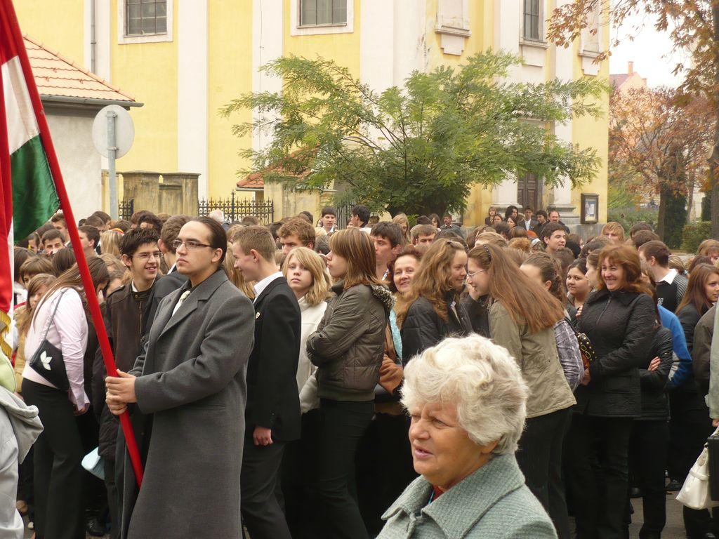 Ünnepi megemlékezés - 2008.10.23.