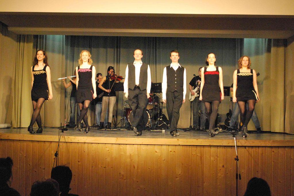 Ír táncelőadás és táncház - 2010.03.12.