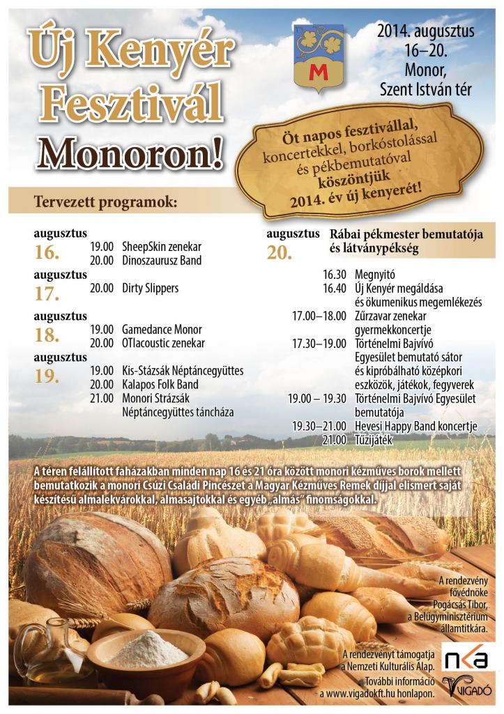 Új Kenyér Fesztivál Monoron!